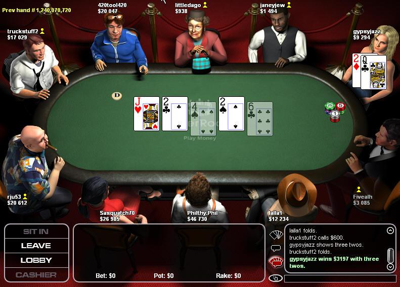 Home Game Online Poker